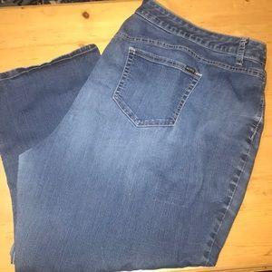 Jennifer Lopez Ankle Jeans 22W